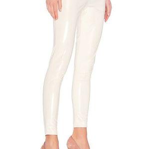 NWT LPA Legging 629 - Faux leather white legging